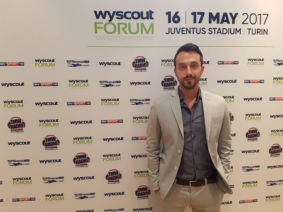 Георги Захариев по време на най-големия футболен форум за трансфери в света