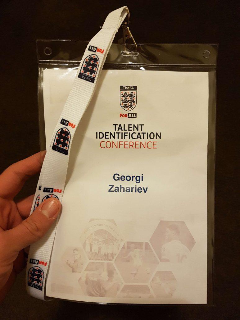 Футболна конференция в Англия