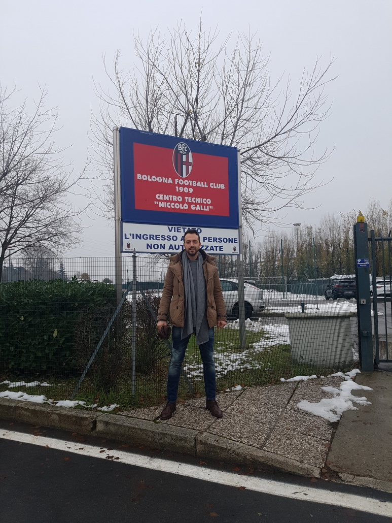 Георги Захариев на посещение в школата на Болоня