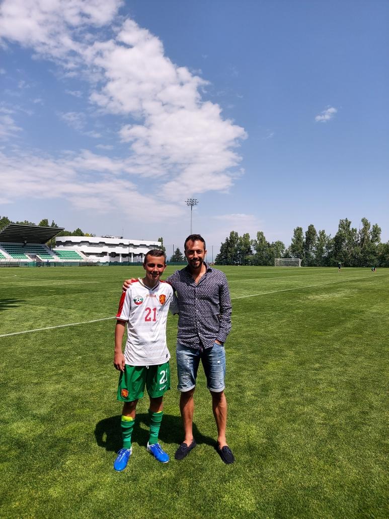 Георги Захариев и Божидар Костадинов